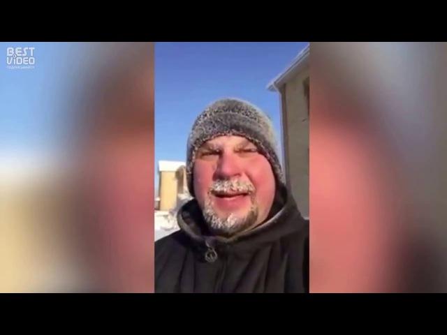 Жена послала за хлебом в 50 градусный мороз угар