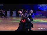 Stanislav Slomchinsky - Elizaveta Denisova, RUS, 1/2 Viennese Waltz