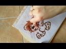 Украшаем торт картинкой из шоколада.Шоколадный львенок Ррр-мяу.