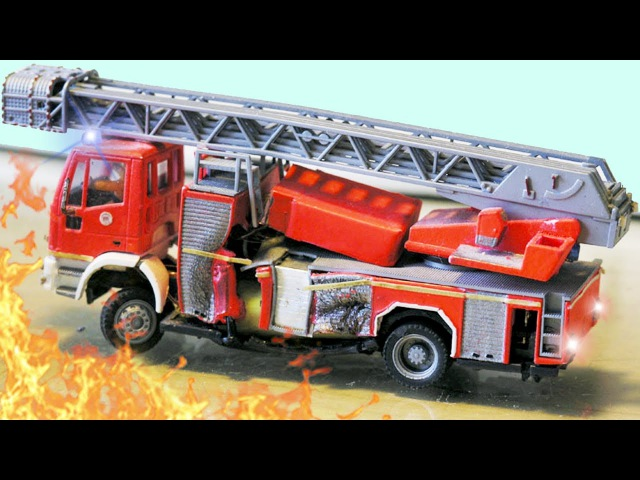 Feuerwehrautos haben eine Geheimmission - Animierter Zeichentrick - Lehrreicher Cartoon für Kinder