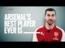 Get to know Henrikh Mkhitaryan | Fill in the blanks