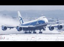 Cargospotter 2017 45 Minutes of AVIATION AIRBUS A380 BOEING 747 DUS MIX