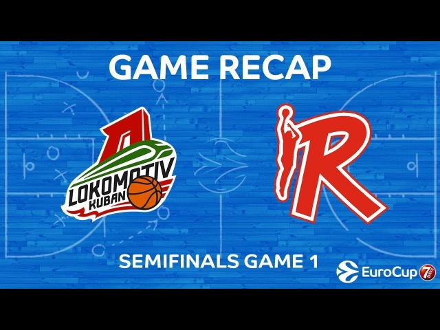 Highlights: Lokomotiv Kuban Krasnodar - Grissin Bon Reggio Emilia