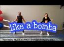 Denorecords - Like A Bomba ZUMBA Choreo by Flurim Anka