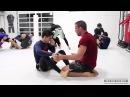 Rafael Mendes vs Jake Shields NOGI Sparring Session Art of Jiu Jitsu Academy