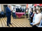 Владимир Ефимов - Приём в Юнармию - Южа