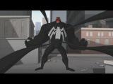 Spectacular Spider-Man (2008) Spider-Man vs Venom parade fight (13)