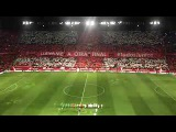 Sevilla FC Himno del Centenario en la vuelta de semifinales de Copa del Rey