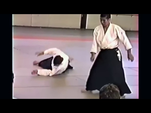 Miyamoto Tsuruzo Shihan 宮本鶴蔵 , France Soulac 1988 Aikido HD