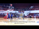 Views (2of2) practice before GSW-DET: Detroit Mercy banners, Draymond jokes w/ Nick Young, Casspi