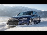 Can the 2018 AUDI RS4 handle the ROUGH SNOW - (450hp600NmV6BiTurbo) - Stuck or not