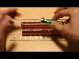 World's simplest electric train. Yeah Bitch! Magnets! #coub, #коуб