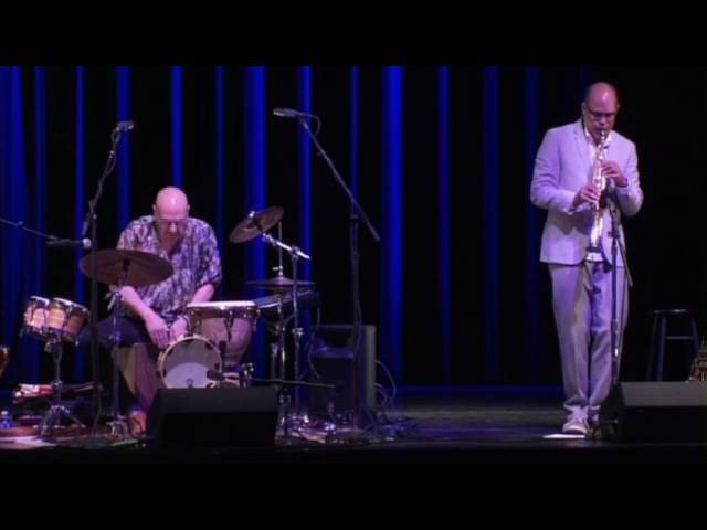 World Percussionist Tom Teasley Trio Jam for Weston Live at The Kennedy Center