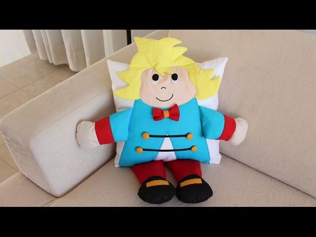 Almofada em 3D do Pequeno Príncipe Passo a passo