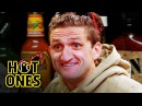 Casey Neistat Melts His Face Off While Eating Spicy Wings Hot Ones