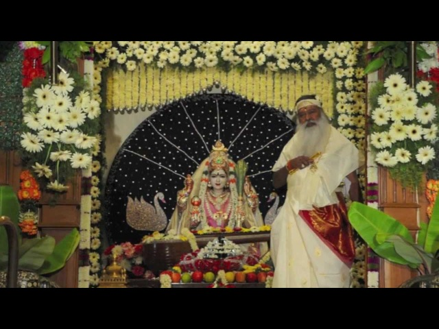 Sapta Swaramaya Sarasvati - Sanskrit Bhajan on Goddess Saraswati - Navaratri 2011 - Day 6
