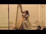 Brilliant timbre Toccata and fugue in d minor Bach Sofia Kiprskaya Harp