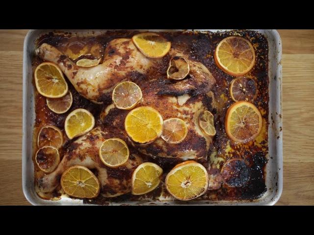 Курица в духовке под пряным маринадом. СУПЕР РЕЦЕПТ