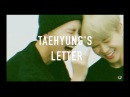 Vmin — taehyung's letter