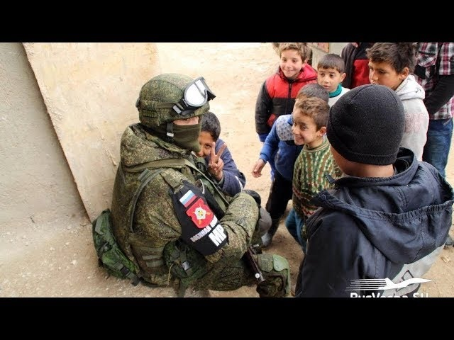 Армия-России в Сирии | Army-Russia in Syria [HD]