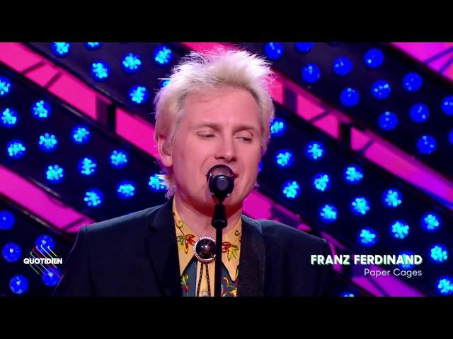 Franz Ferdinand - Paper Cages en live dans Quotidien