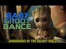 Guardians of the Galaxy Vol. 2 (2017) - Baby Groot Dancing Scene