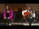 Pepe Habichuela y Tamara Escudero Al pie de un almendro