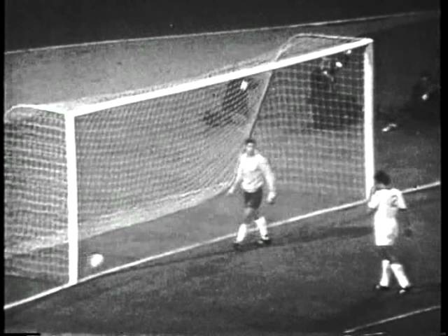 1968 European Cup Final Manchester United 4 1 Benfica First Half of Extra Time