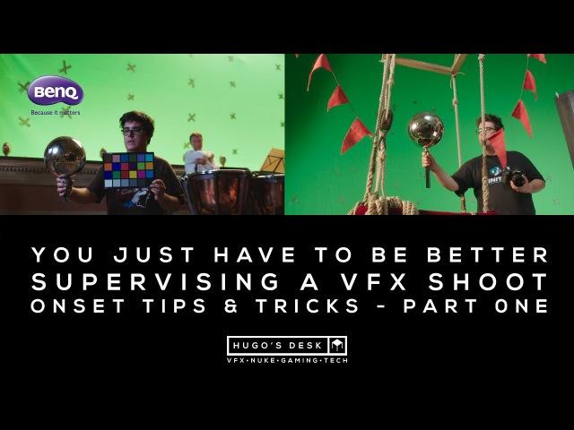 Splash 2017 - Onset VFX Supervising tips tricks Part One - A Tutorial by BenQ