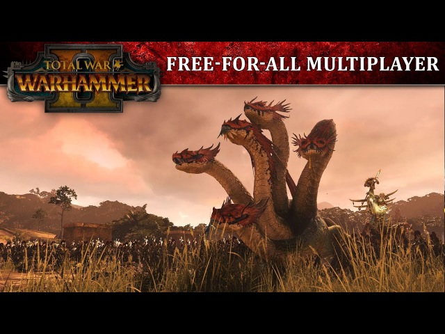 Total War: WARHAMMER 2 - Free-For-All Battle