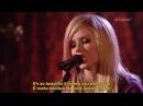 Avril Lavigne - Innocence (Acoustic Live) Legendado em PT/ENG