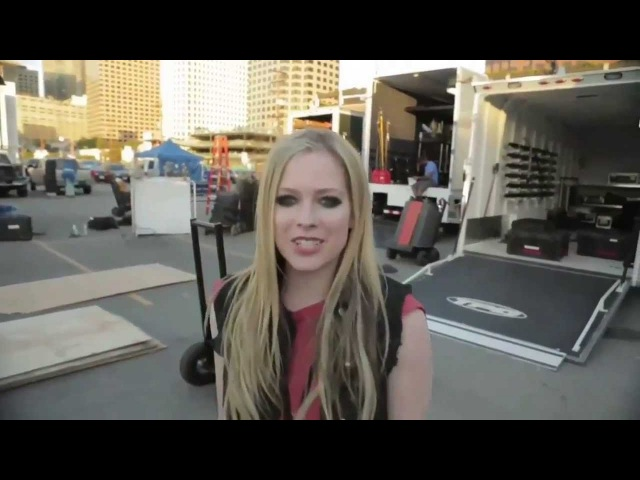 Avril Lavigne - Ice Tea Commercial Behind The Scenes 2013
