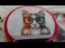 Вышивка на одежде Пушистый умник от МП Студия любимая школьная блузка