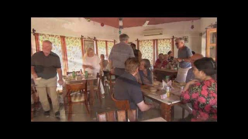 Das Restaurant im Herzen der Wüste Thar Indien Rajastan