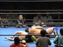 Stan Hansen Gary Albright vs. Toshiaki Kawada Akira Taue AJPW 24.01.96 - Part 3.avi