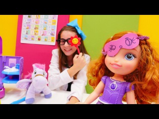 Toys for girls & family fun 💊 Play doctor 👩‍⚕️ games for kids with doll & pony. Videos for kids.