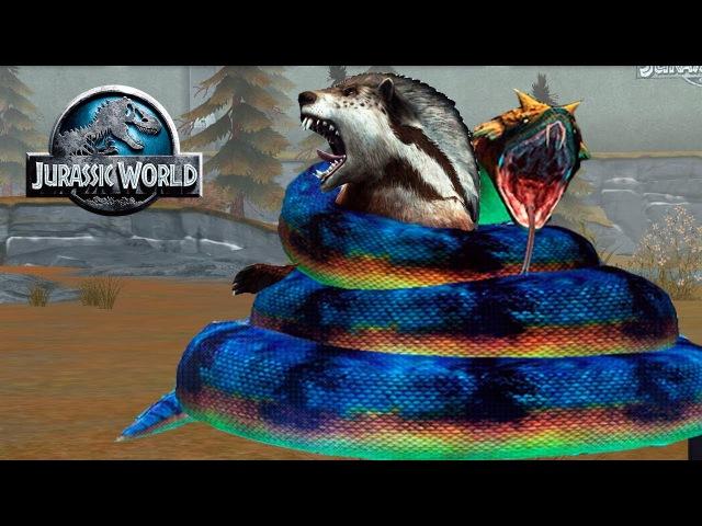 Титанобоа и Генодон в битве Jurassic World The Game прохождение на русском » Freewka.com - Смотреть онлайн в хорощем качестве