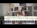 Sting - Shape of my heart (sheet music for saxophone) Piano version