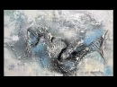 Abstraktes Malen-Demo-Mischtechniken-Abstract Art Painting-Metamorphosis