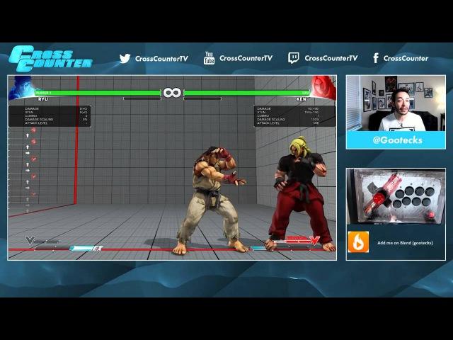 Street Fighter V 101. Обучение основам вместе с @gootecks. Часть 1. Нападение (Ryu)