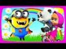 Маша и Медведь Kinder Surprise Masha and The Bear Новые серии Сartoons for kids!