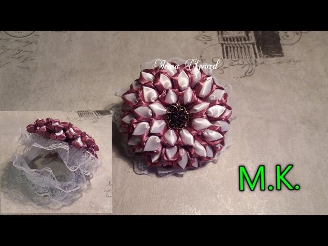 МК резинка на гульку, пучок. / Master class rubber band for shavings