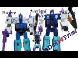 Overlord Transformers Takara Legends vs Hasbro Titans Return