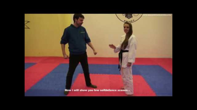 Pavla Karate Ballbusting