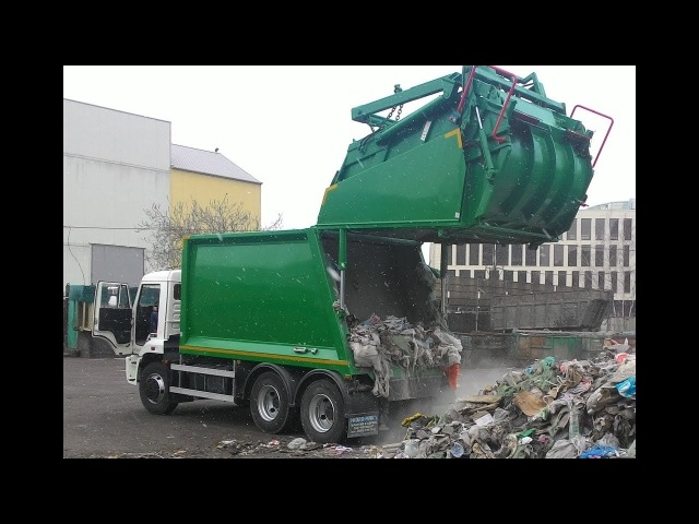 HIDROMAK-RCV18 (аналоги KO-427-01, OMB-XL18) - мусоровоз ЗЗ, 18 м.куб., на шасси КАМАЗ-65115