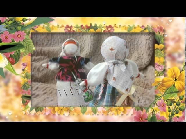 Кукла-мотанка Берегиня. Работа Лидии Стадник (Софич)