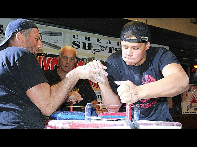 16 YEARS OLD ARM WRESTLING CHAMPION