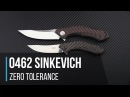 Zero Tolerance 0462 Sinkevich 20CV Flipper Overview