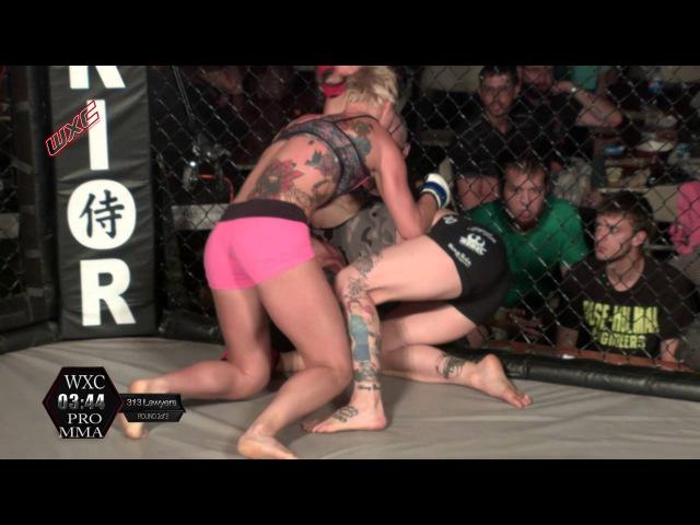 WXC 59 Pro female MMA Calie Cutler vs Lindsay Garbatt 115