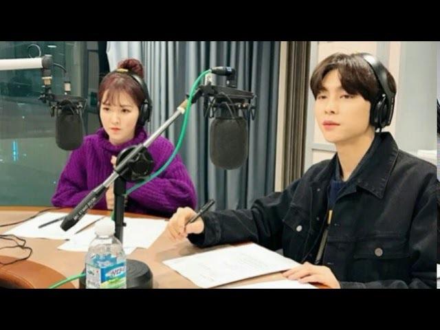 Audio 180116 NCT night night with 웬디 Red Velvet